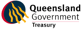 QLD Treasury logo