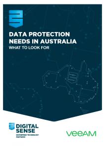 Data Protection needs in Australia logo