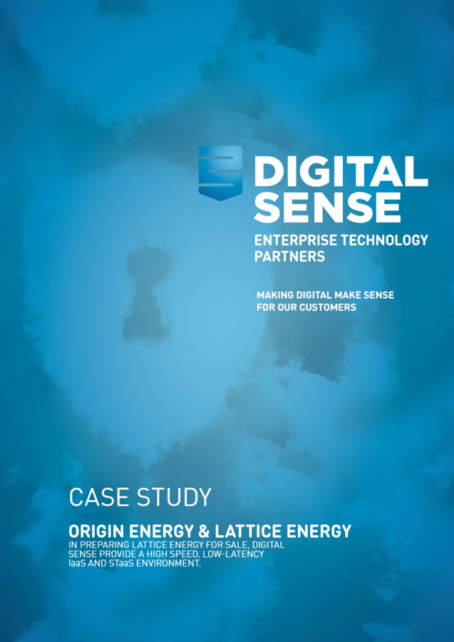 Digital Sense - Origin Energy case study
